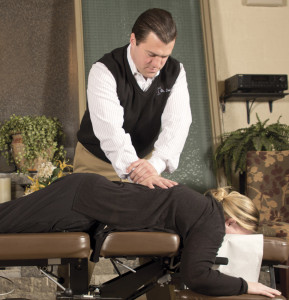 Chiropractor Adjustment