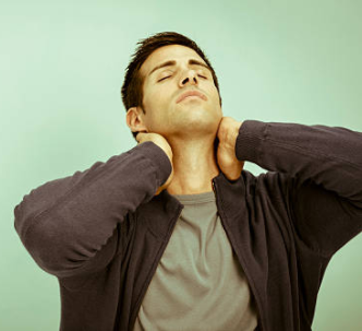 Neck stretch flexor muscles
