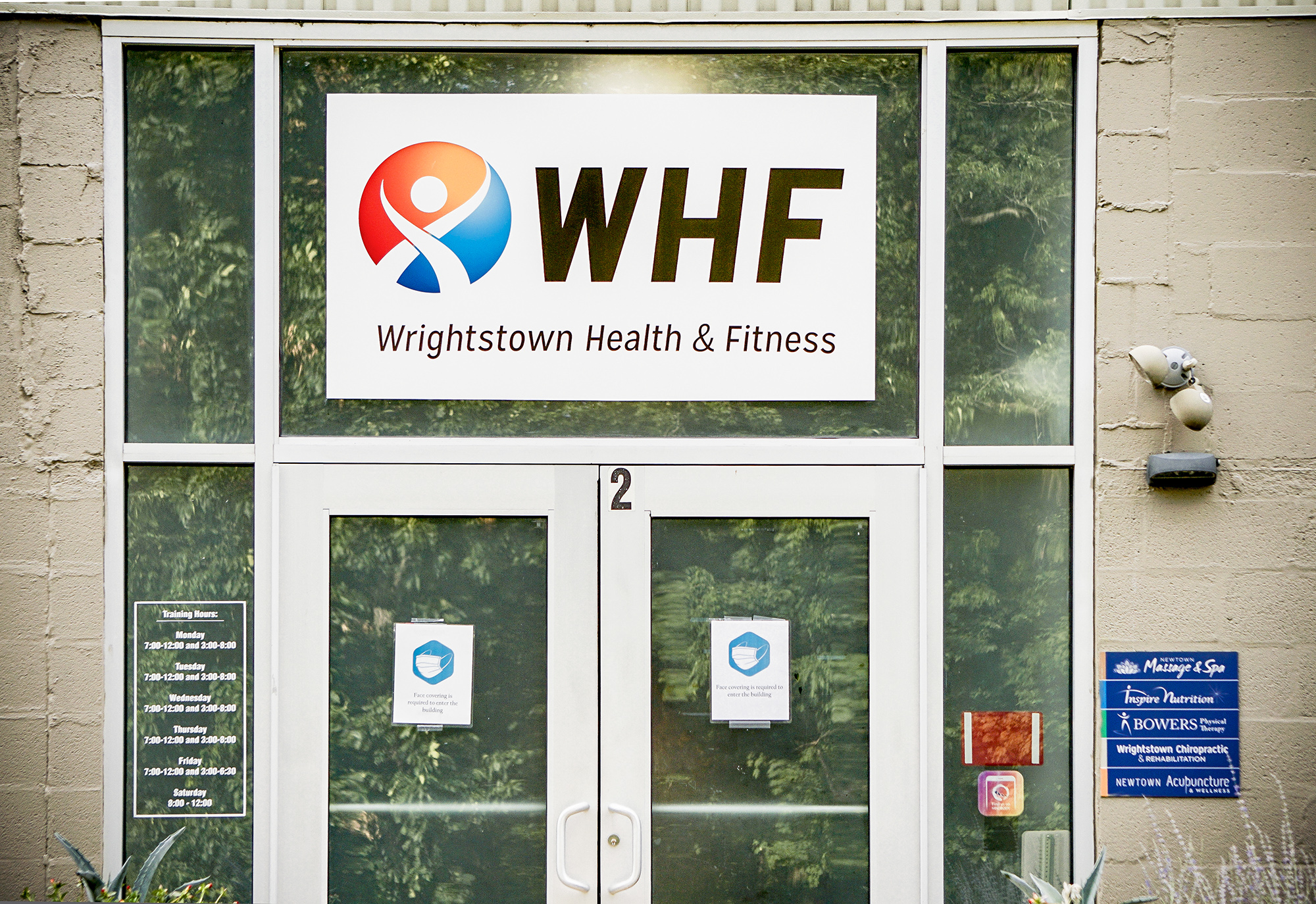 WHF home of Newtown PA Chiropractor Dr. Patrick Donohue